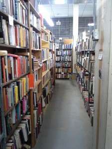 Second Story Books in Rockville, MD.  Used book heaven.